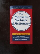 The Merriam Webster Dictionary New Edition paperback book for sale by owner!!!