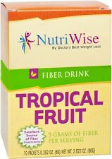 NUTRIWISE   Tropical Fruit Drink   High Fiber, Zero Sugar, Low Calorie