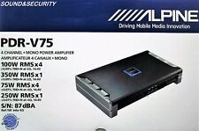 BRANDNEW! Alpine PDR-V75 5-Channel class D Car Amplifier