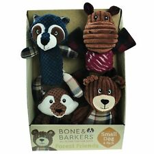 New listing Bone and Barkers 4 Piece Autumn Dog Toy Pack New
