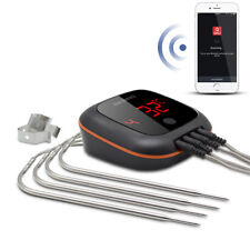 Chargeable IBT-4X Bluetooth Digital meat thermometer wireless grill oven roast