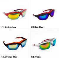 Skibrille Snowboardbrille Brille Sport UV400 Damen Herren 4 verschiedene Farben