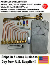 Welding/Brazing Kit- Acetylene/Oxygen Victor Type 315Fc/2460Ca -New!