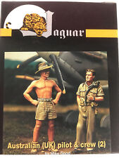 Jaguar 1/48 Australian (UK) Pilot & Crew - by Mike Good (2 Resin Figs) - GD48007