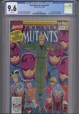New Mutants Annual #6  CGC 9.6 1990: New Frame