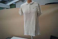 LACOSTE kurzarm Polo Shirt Bluse Poloshirt Gr.42 beige TOP