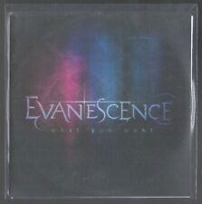 CD 1 TITRE PROMO EVANESCENCE WHAT YOU WANT (pochette plastique) BON ETAT & RARE