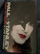 Paul Stanley KISS Face the Music NEW First Edition Signed with Numbered COA
