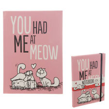 Simons cat notebook - you had me at Meow, cat notebook
