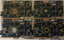 Asus G75VW NVIDIA GTX 660M 2GB 60-N2VVG1300-B03 lot of 4, For parts not working