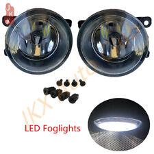 LED Fog Lights Lamps Pair k For Peugeot 207 307 407 607 3008 SW CC VAN 2000-2013