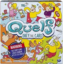FUN NEW QUELF BOARD GAME THE UNPREDICTABLE PARTY GAME 3-6 PLAYERS AGES12+ SEALED