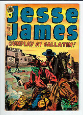 Avon JESSE JAMES #18 June-July 1954 vintage comic G Kubert art