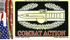 COMBAT ACTION BADGE sticker MADE IN USA