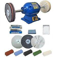 Toolzone TZPW-6002 Bench Grinder Metal Polishing Kit