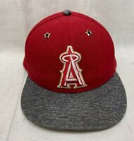 LA Angels of Anaheim Baseball Hat Cap New Era 59Fifty Men's Size 7.3 / 8