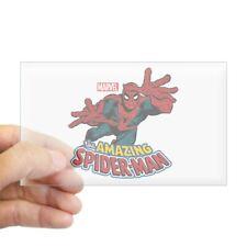 1265383368 CafePress The Amazing Spiderman Rectangle Bumper Sticker Car Decal