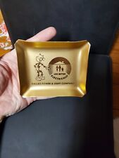 reddy kilowatt golden ashtray Americana vintage Dallas power company