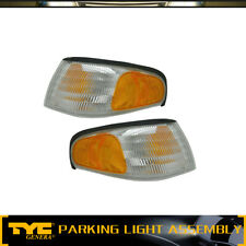 TYC 2X Parking Light Lamp Assembly Front Left&Right For 1994-1998 Ford Mustang