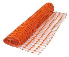 Rete recinzione cantieri plastica arancio mt 50 cm 120 h