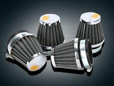 4x 48mm Air Filter Pod Fit Yamaha DT250 XS250 XS250SE XS400 XS400SE XT500(76-80)