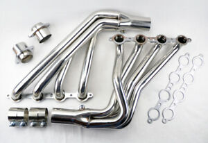 Long Tube Stainless Steel Headers w/ Extension for Pontiac G8 08-09 6.0L 6.2L