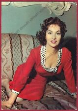 GINA LOLLOBRIGIDA 41a ATTRICE ACTRESS CINEMA MOVIE STAR Cartolina NON FOTOGRAF.