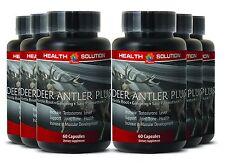 Aging Male Enhancers Caps - Deer Antler Plus 550mg - Nettle Root Extract 6B