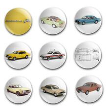25mm  BUTTON BADGES X9 FEATURING THE FORD GRANADA