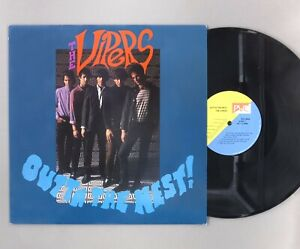 """The Vipers - Outta The Nest! - 12"""" Vinyl LP - PVC 8928"""