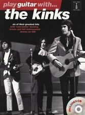 Play Guitar with The Kinks TAB Music Book/Play-Along CD 60s Pop