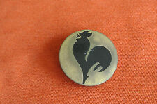 17118 PIN'S BADGE EQUIPE FRANCE FRENCH TEAM COQ ROOSTER OLYMPIC  - OLD 40mm