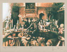 Ron Wood Beggars Banquet II numbered signed print