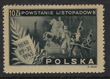 POLAND : 1945  115th Anniversary of the 1830 Revolt against Russia SG 547 mint