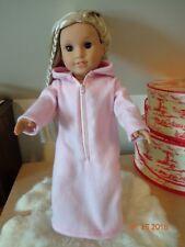 """Fleece robe & Slippers for 18"""" American Girl & same size dolls-New"""