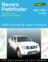 Nissan Navara/Pathfinder 2005-2013 Gregory's Repair Manual