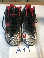 Nike Lebron 11  GS Youth Size 7Y 621712-100 Black and White