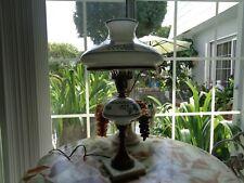 Handpainted Antique Blue Onion Lamp