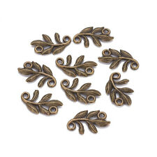 50pcs Tibetan Alloy Turtle Charm Connectors 1//1 Loop Carved Silver Findings 21mm