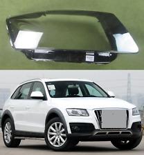 Audi Q5 2010 - 2012 HEADLIGHT GLASS LENS SET PAIR RIGHT + LEFT
