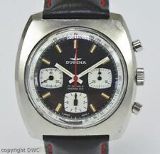 HAU Dugena Chronograph 157 Stahl cal. 7736 um 1970 vintage watch