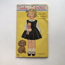 VINTAGE 1964 Trudy Doll Uncut Original Paper Doll Book Clothes James & Jonathan