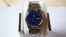 OMEGA  SEAMASTER  AUTOMATIC MENS WATCH REF# 166.0210 CAL.1022 BLUE DIAL  B594