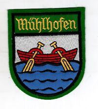 Écusson à Broder Uhldingen-Mühlhofen Est Une Gemeinde Dans Bodenseekreis