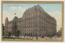 Canada postcard - Windsor Hotel, Montreal