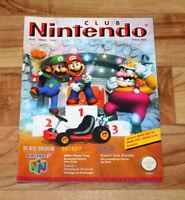 1997 Club Nintendo Magazine Lufia Super Mario 64 Turok Wave Race 64 Donkey Kong