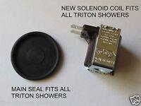 TRITON ELECTRIC SHOWER CARA PART  *DIY REPAIR* SOLENOID COIL & MAIN VALVE SEAL