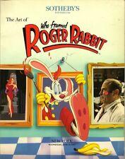 SOTHEBY'S Animation Art Who Framed Roger Rabbit Auction Catalog 1989