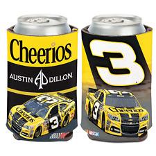 NEW Austin Dillon #3 CHEERIOS 12 OZ Can Coozie Cooler NASCAR