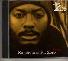 (BO119) Kos, Superstar Pt. Zero - 2003 DJ CD
